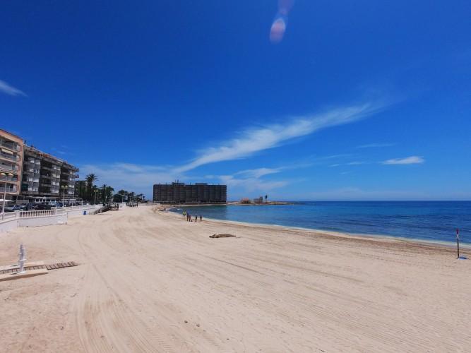 Torrevieja - Playa de Los Locos Beach